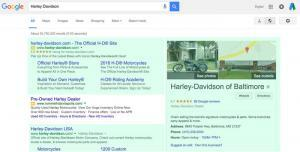 Advertising on your brand can let you take over the search engine results page